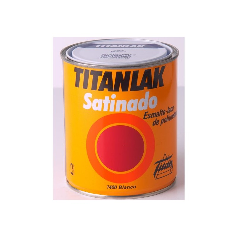Pintura esmalte laca de poliuretano acabado satinado titanlak for Pintura de poliuretano