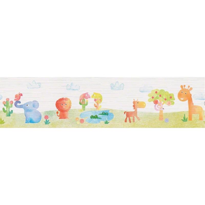 Cenefa papel pintado esprit kids 3 as creati n dise o con animalitos - Papel pintado y cenefas ...