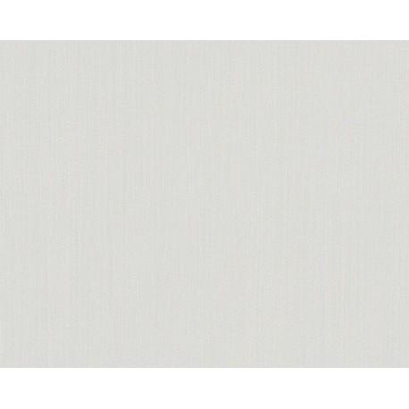 Papel pintado selina dise o liso en tono blanco ideal para for Papel pintado blanco liso