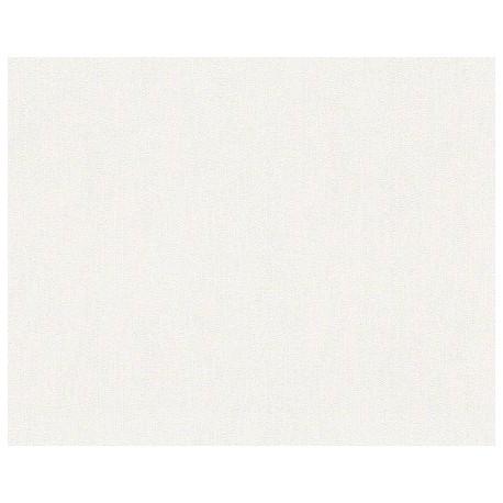 Papel pintado selina dise o liso en color blanco ideal for Papel pintado blanco liso