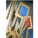 Bastidor de madera con lienzo Caisa.