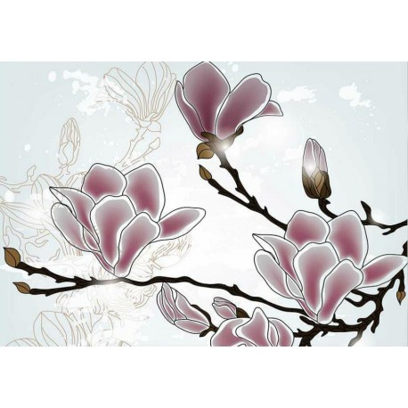 Fotomural magnolias 178 Decoas.