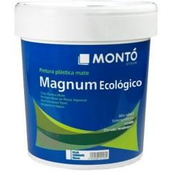 Magnum pintura plástica ecológica blanca Montó