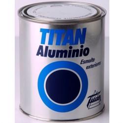Titan esmalte aluminio exteriores.
