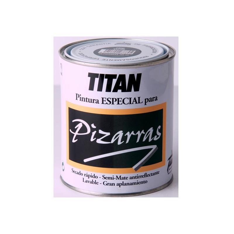 Pintura titan pizarras para pintar pizarras en color verde - Pintura pizarra titan ...