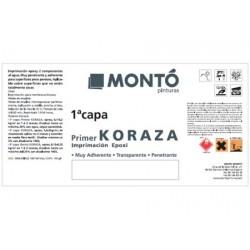 Koraza imprimación Montó impermeabilizante