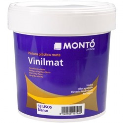 Vinilmat pintura plástica vinílica color blanco Montó