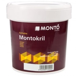 Montokril Montó pintura para fachadas
