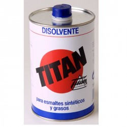 Disolvente para pinturas sintéticas y grasas Titan