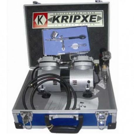 Kit aerógrafo profesional Kripxe