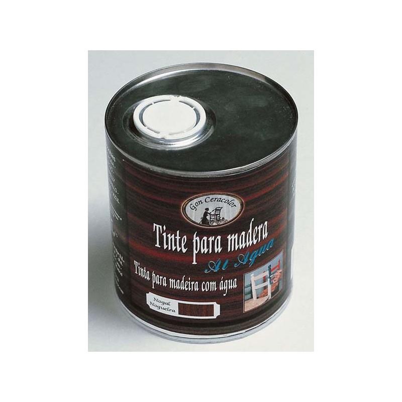 Tinte para madera al agua gon ceracolor lata 750 ml y - Tinte para madera ...