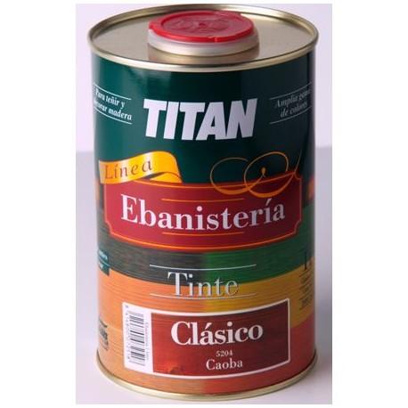 Tinte al agua para madera clasico linea titan ebanisteria - Tinte para madera ...