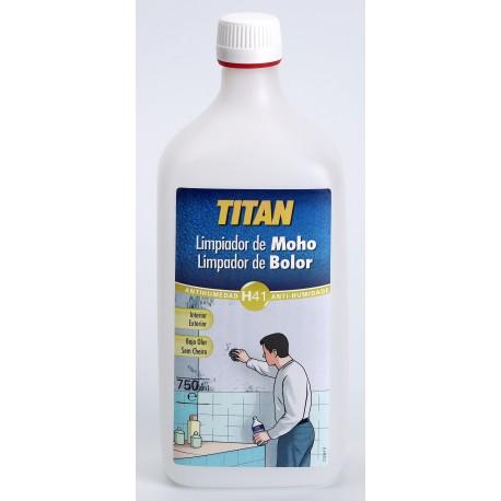 Limpiador antimoho titan h41 elimina las manchas de moho - Limpieza de moho en paredes ...