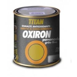 Esmalte antioxidante pavonado Oxiron Titan.