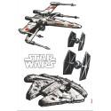 Sticker Star Wars Spaceships 14723
