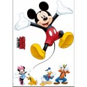 Sticker Mickey and Friends de Komar