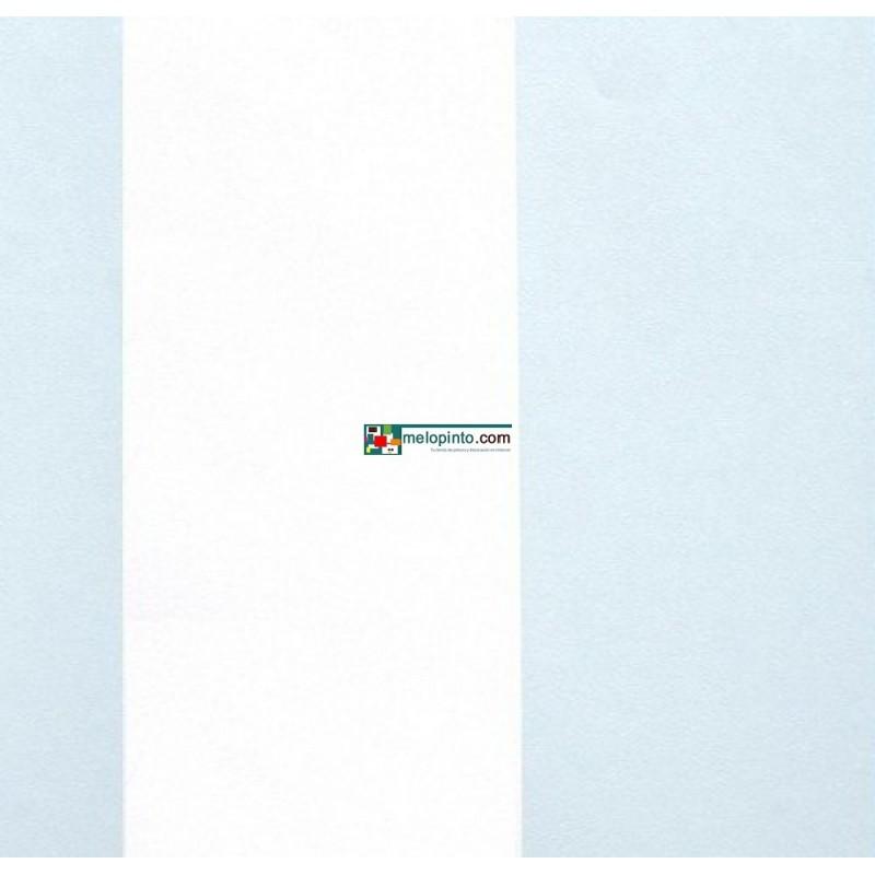 Papel pintado espacios dise o anchas rayas en tonos for Papel pintado tonos naranjas