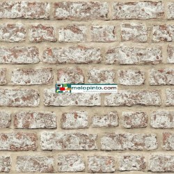 Papel pintado options 2 dise o rustico imitaci n muro ladrillos beige - Papel pintado rustico ...