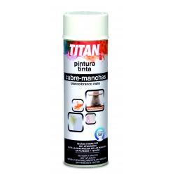 Pintura cubre manchas en spray Titan