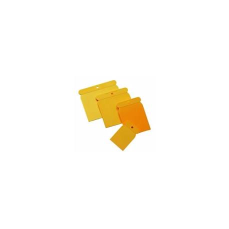 Juego espátulas carrocero plástico