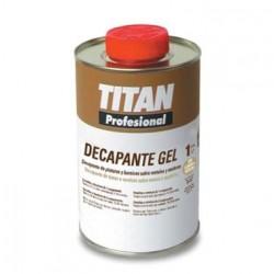 Decapante Gel de pinturas y barnices Titan Profesional