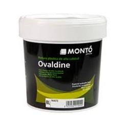 Ovaldine Mate pintura plástica de Montó