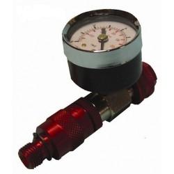 Regulador de aire con manómetro Kripxe.