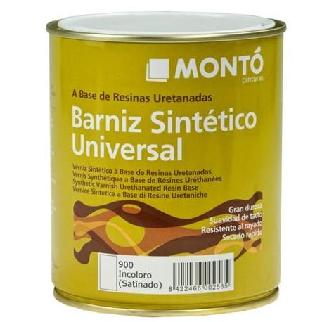 Barniz sintético universal satinado Montó.