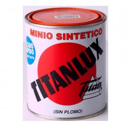 PINTURA MINIO NARANJA SINTÉTICO SIN PLOMO TITANLUX.