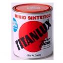 Minio sintético naranja sin plomo Titanlux.