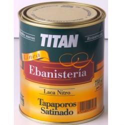 Laca nitrocelulósica tapaporos Titan.