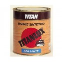 Barniz sintético incoloro brillante Titan.