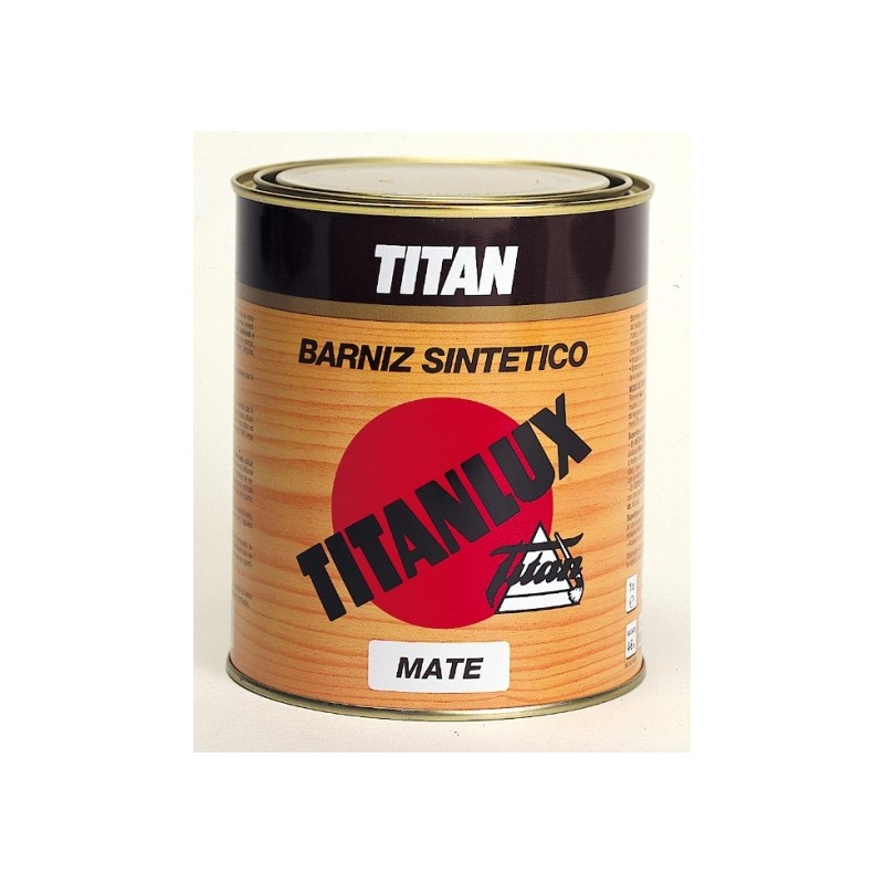 Barniz sint tico incoloro mate titanlux para superficies - Barniz para madera colores ...