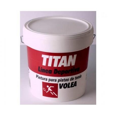 Pintura para pistas de tenis Titan Volea.