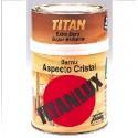 Barniz Titanlux aspecto cristal Titan.