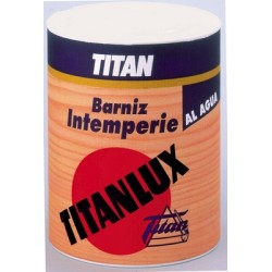 Barniz Titanlux Intemperie satinado/brillante.
