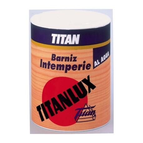Barniz al agua intemperie titan satinado y brillante uso - Barniz para pintura ...