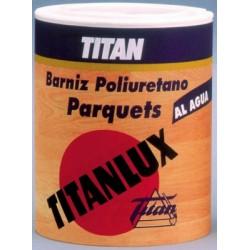 Barniz Titanlux Parquets Poliuretano brillante.