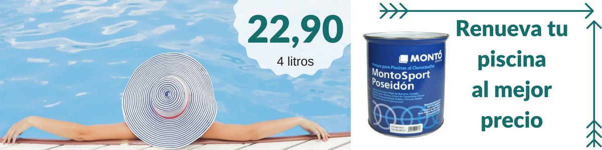 Pintura para piscinas clorocaucho barata