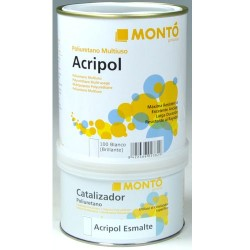 Esmalte Acripol dos componentes Montó