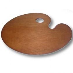 Paleta madera ovalada Mir.
