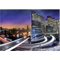 Fotomural vista aérea ciudad noche 161 Decoas