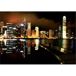 Fotomural luces ciudad noche 4-003 Decoas.