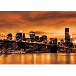 Fotomural luces New York noche 228 Decoas