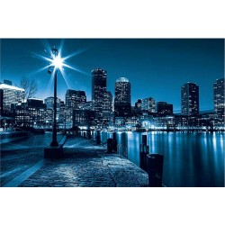 Fotomural luces ciudad noche luces 283 Decoas