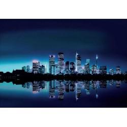 Fotomural luces ciudad noche luces 051 Decoas