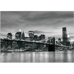 Fotomural New York luces noche 011 Decoas