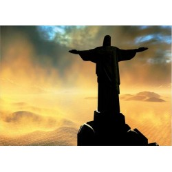 Fotomural Jesus de Corcovado 164 Decoas