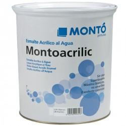 Esmalte al agua blanco brillante Montoacrilic