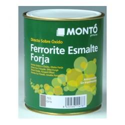 Ferrorite esmalte efecto forja Montó